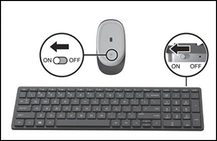 microsoft wireless keyboard 800 instructions