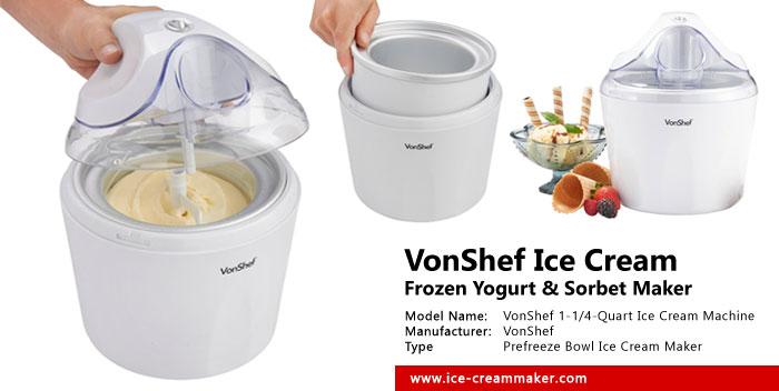 delonghi ice cream maker instructions