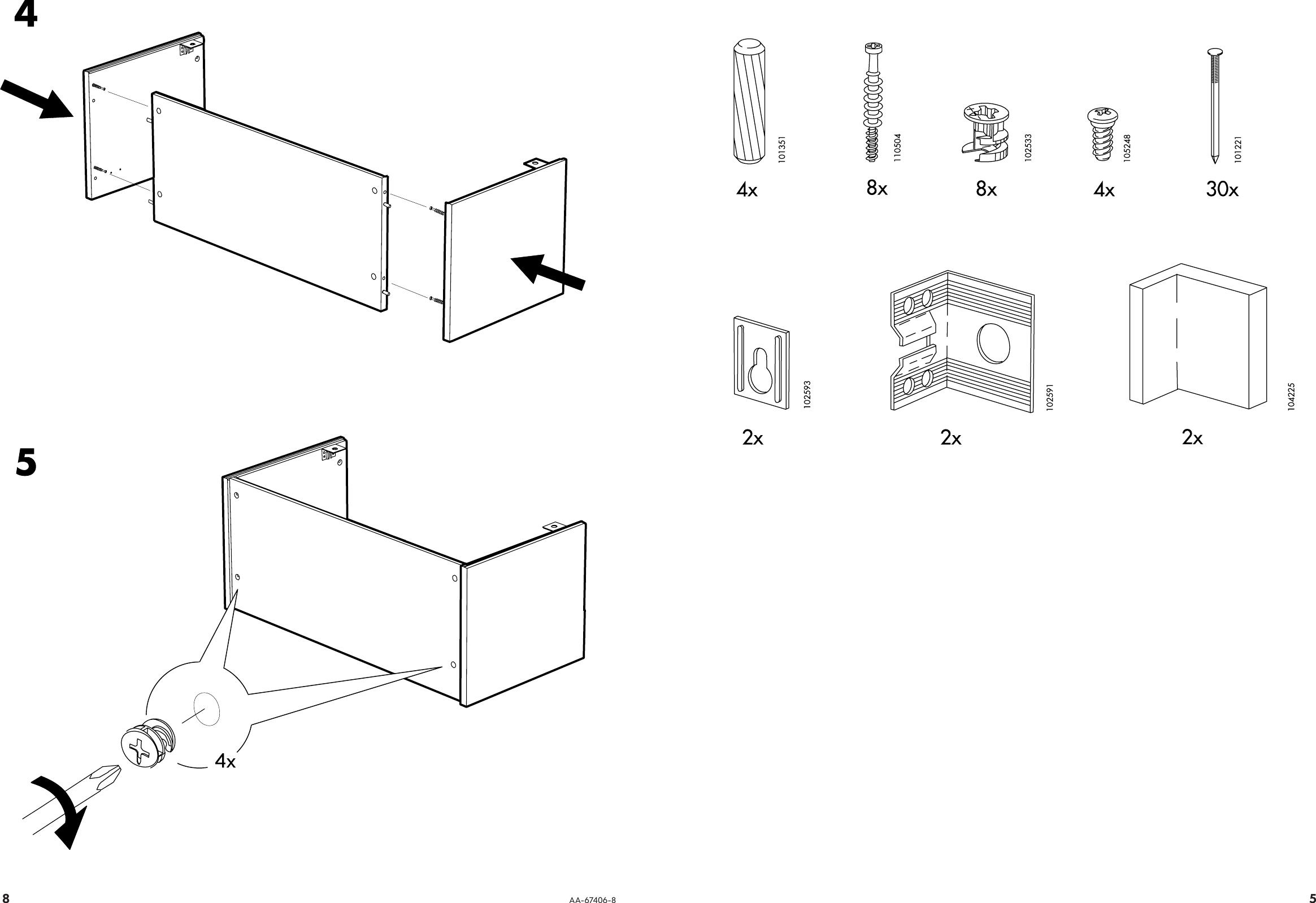 ikea effektiv assembly instructions