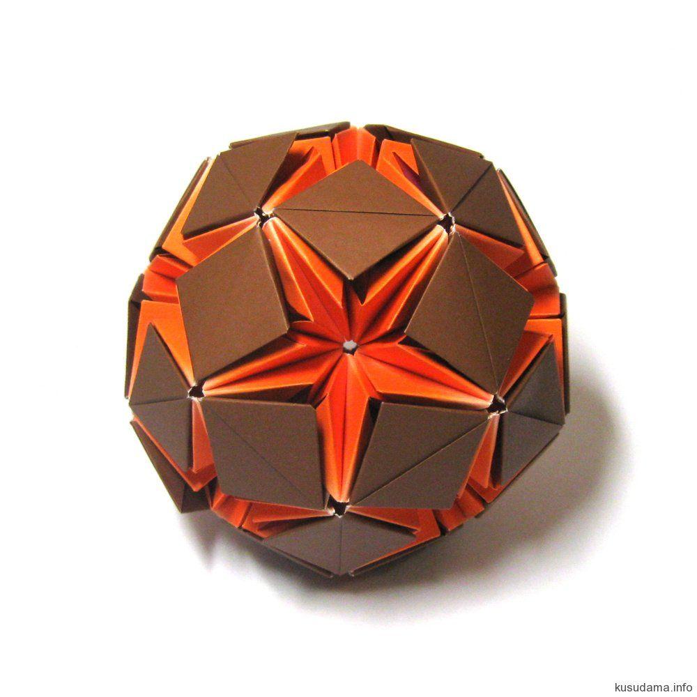 origami 3d modular star instructions