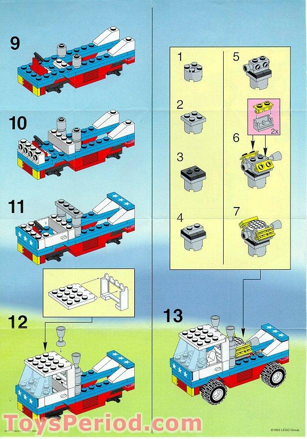 lego city race boat instructions