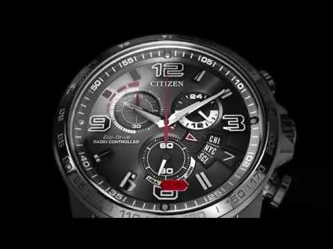citizen eco drive world time instructions