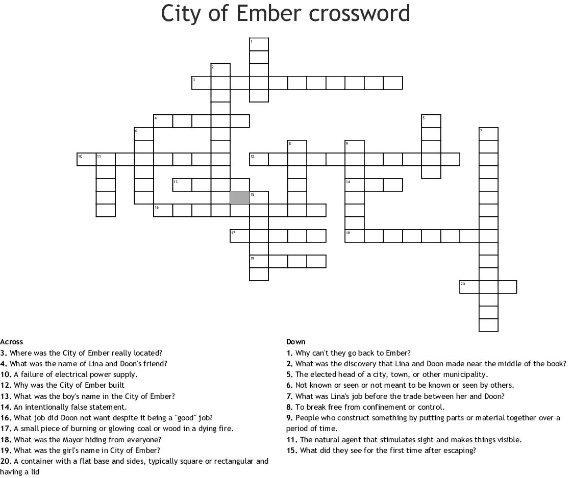 city of ember full instructions for egress
