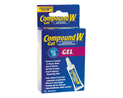 compound w gel instructions