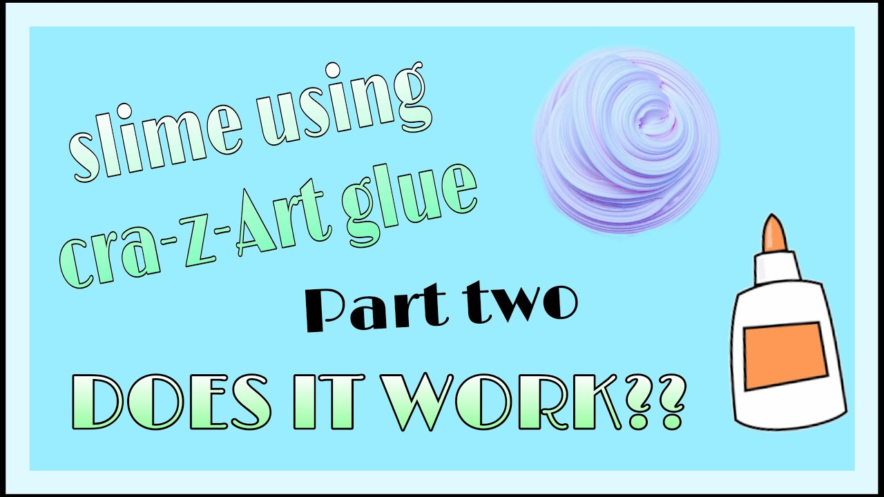 cra z art slime instructions