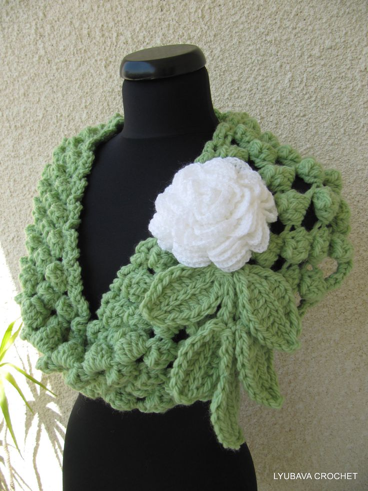 crochet instructions for infinity scarf