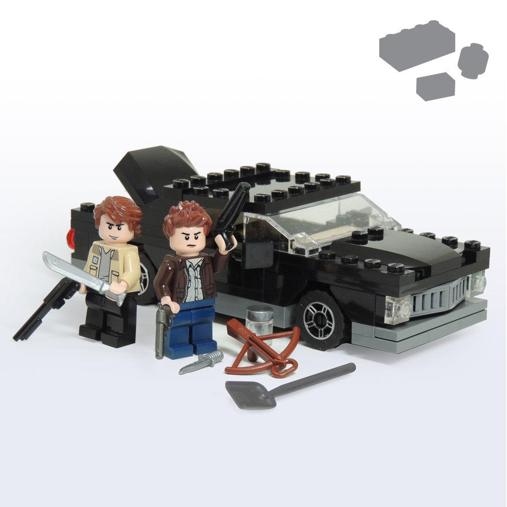 custom lego at at instructions