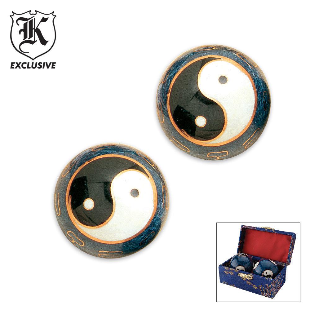 chinese meditation balls instructions