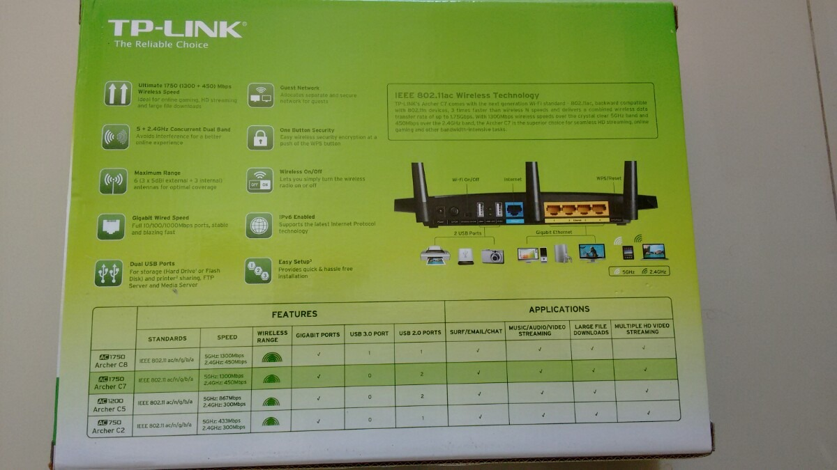 tp link archer c7 instructions