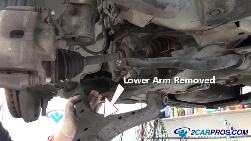 2003 honda civic front strut replacement instructions