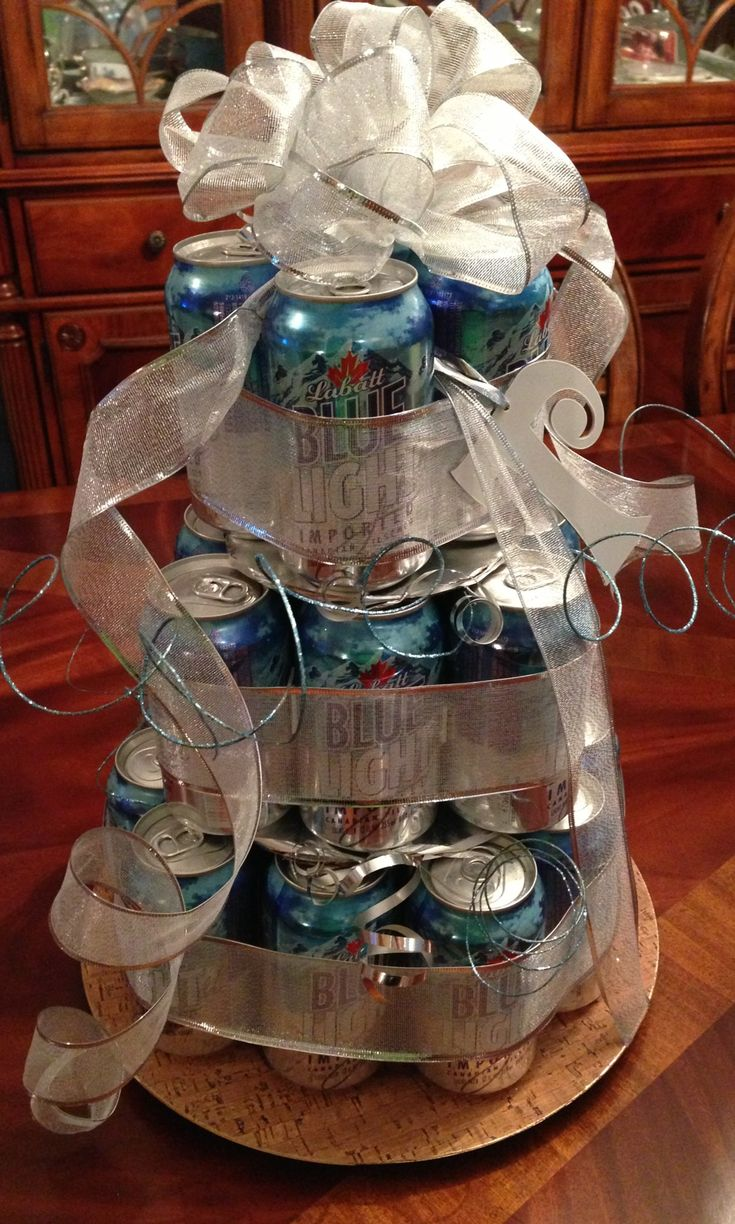 beer can cake instructions