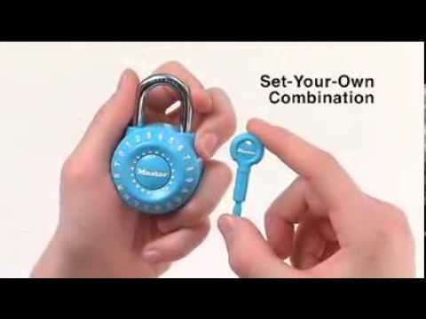 master lock instructions change combination