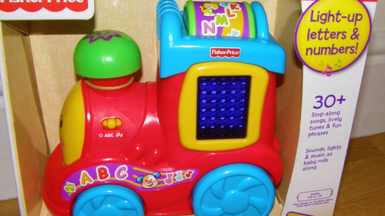 fisher price laugh and learn train instructions