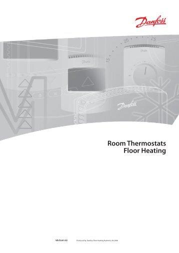 danfoss room thermostat instructions