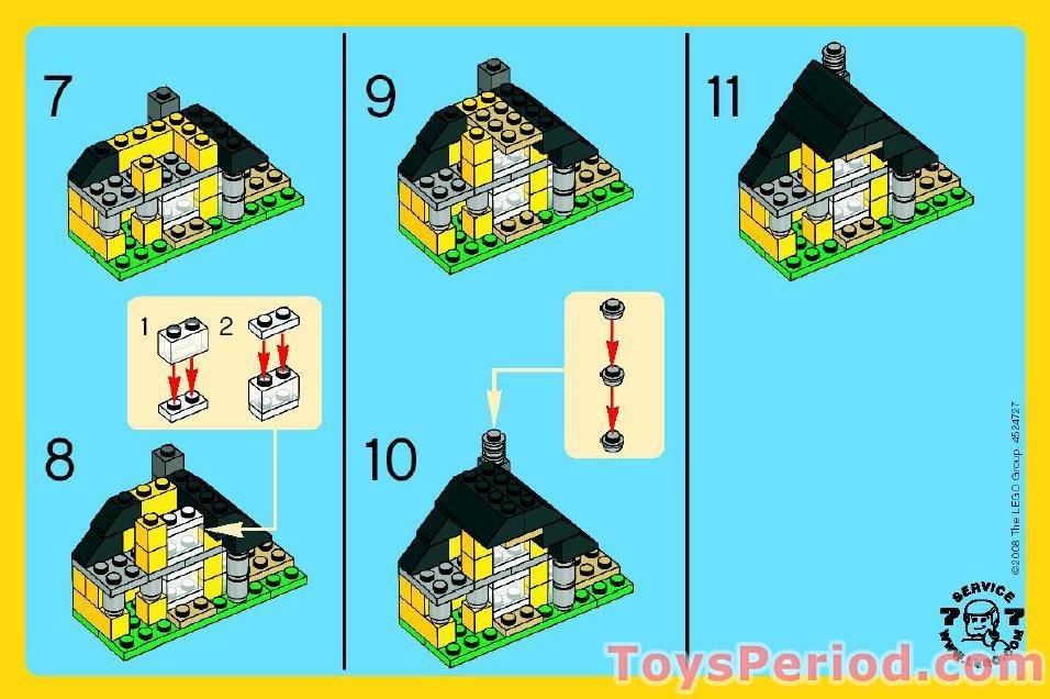 lego creator house instructions