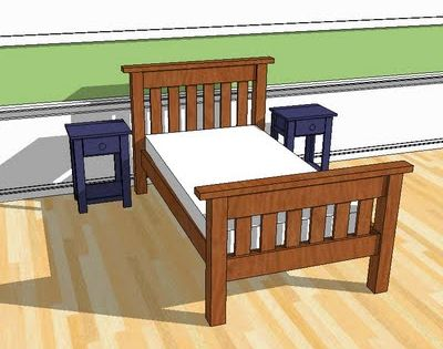 sauder twin platform bed assembly instructions