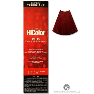 l oreal hicolor deep auburn red instructions
