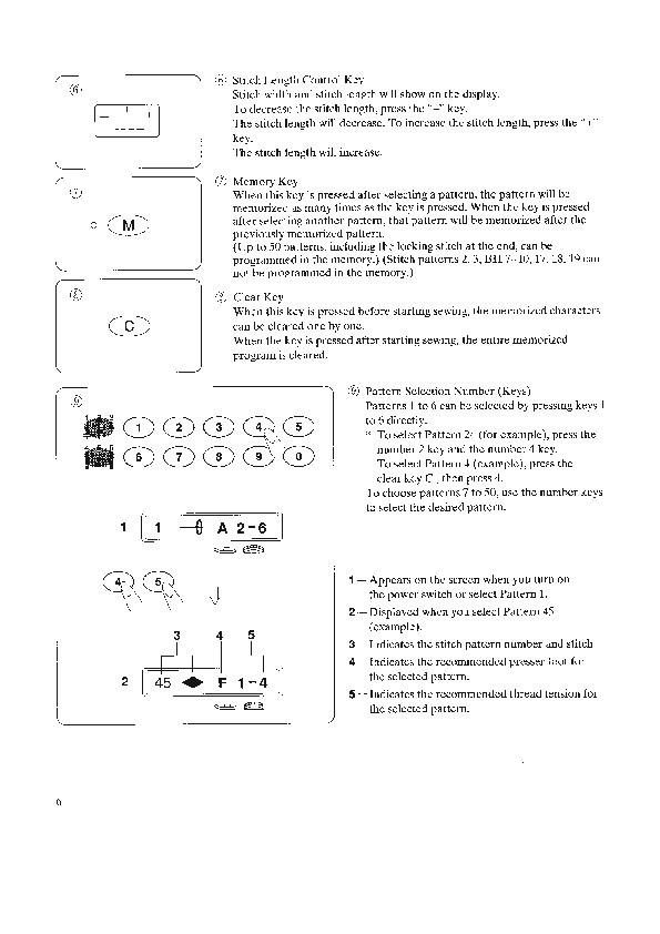janome 8900 instruction manual
