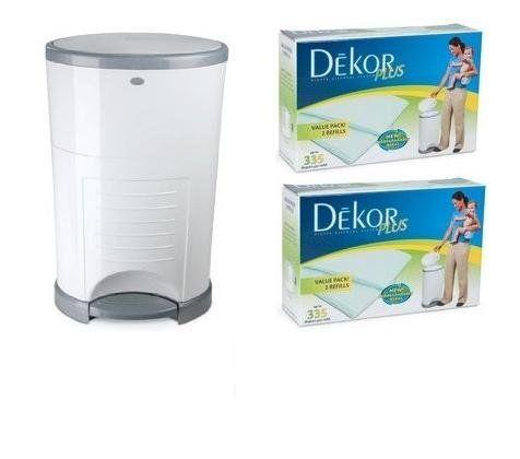 dekor diaper pail instructions