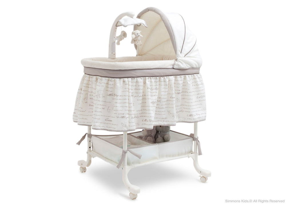 delta gliding bassinet instructions