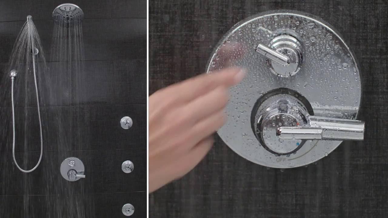 delta shower trim installation instructions