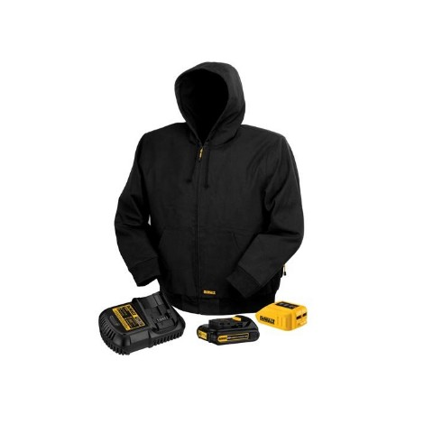 dewalt heated jacket instructions