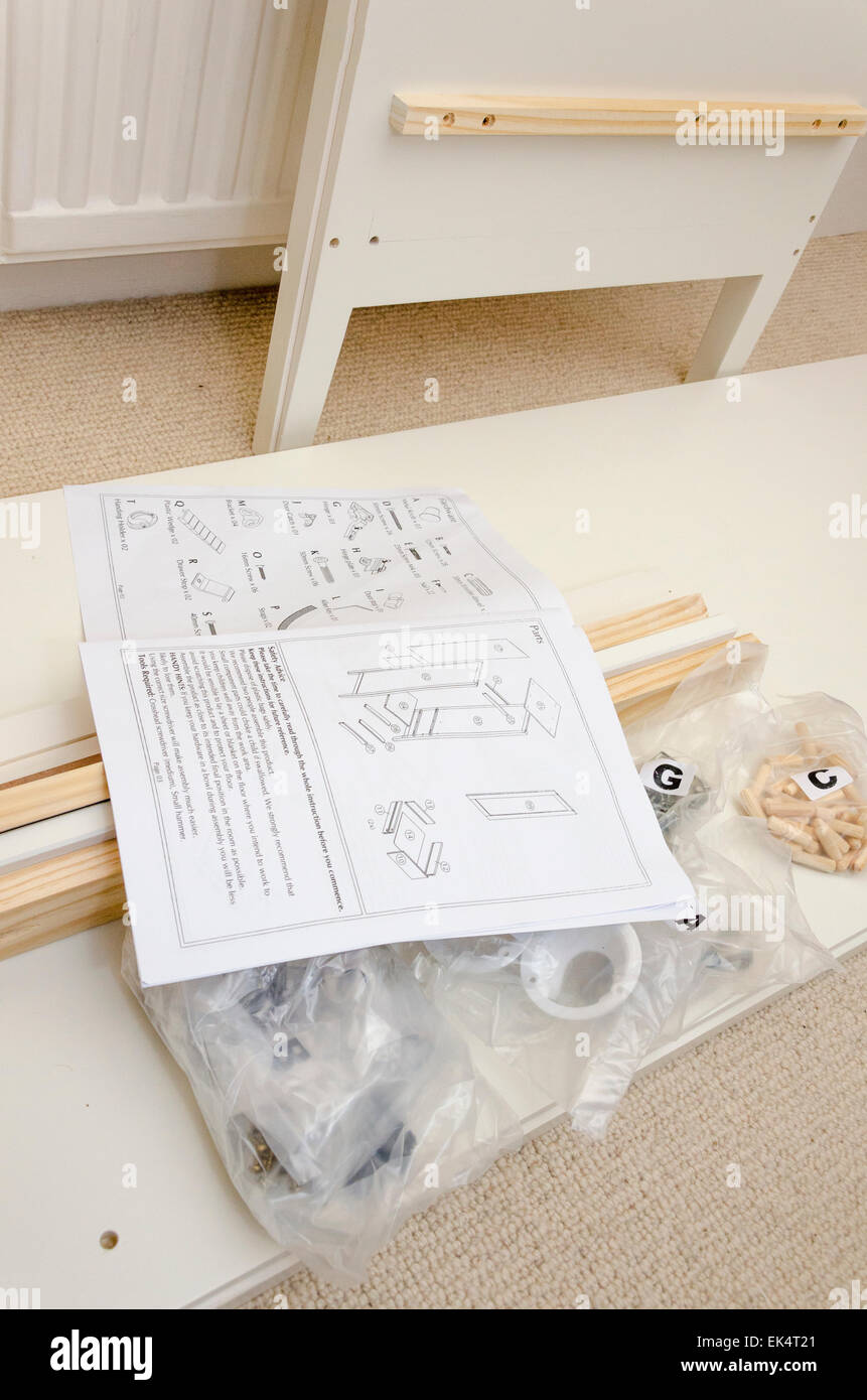 billy bookcase assembly instructions