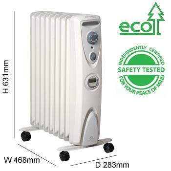dimplex oil heater instructions