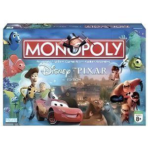disney pixar monopoly instructions