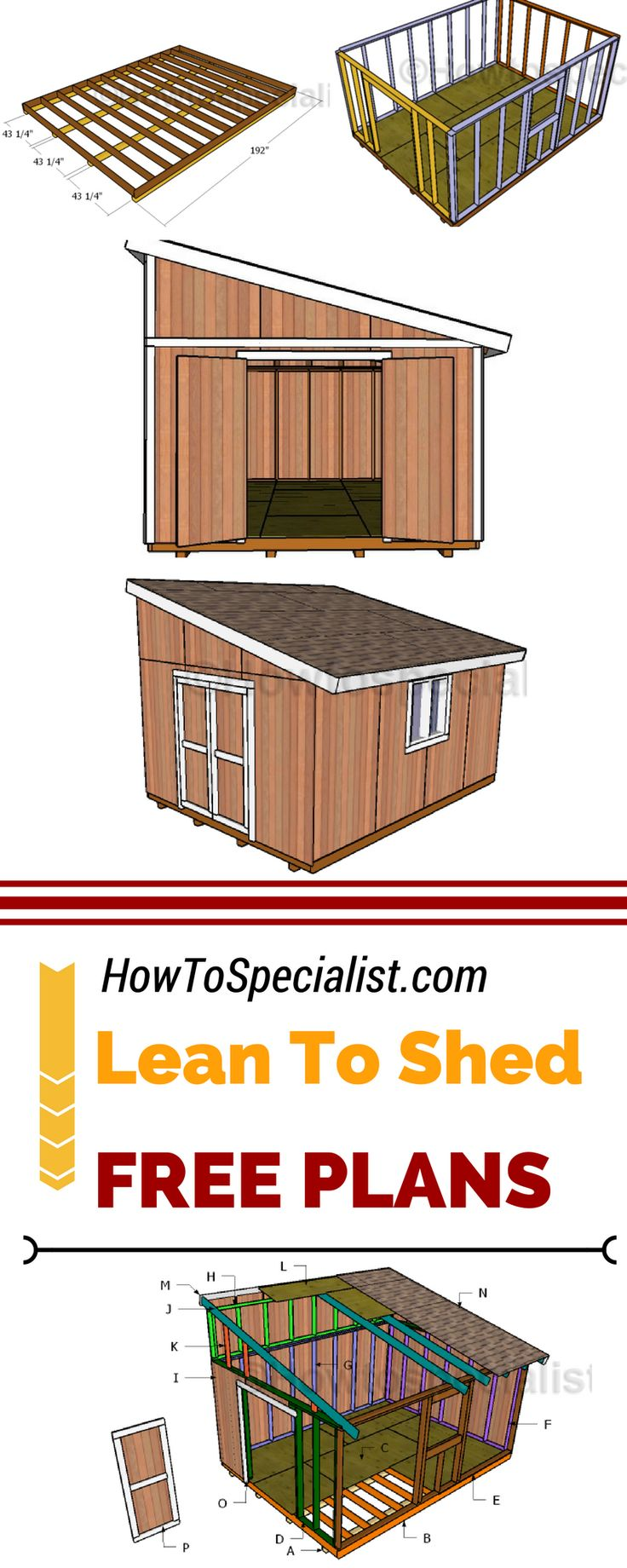 diy pallet shed instructions