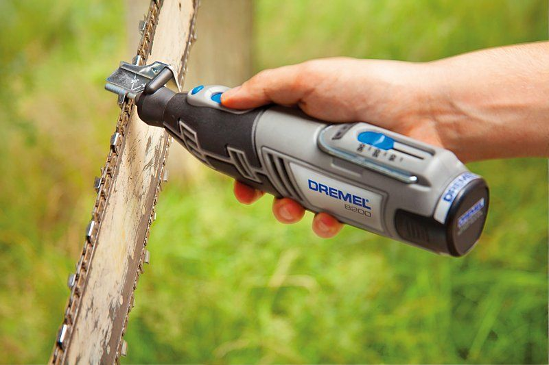 dremel 1453 chain saw sharpening attachment instructions