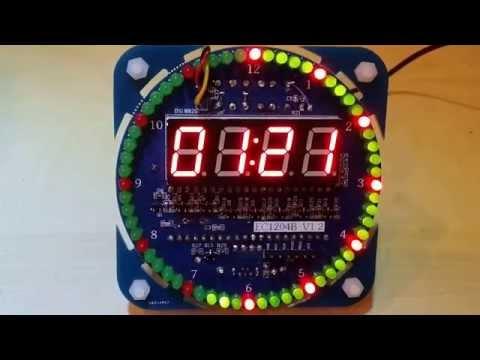 ds1302 clock kit instructions
