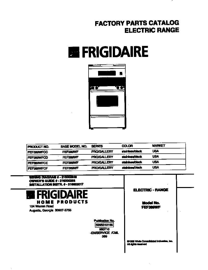 electrolux stove top instructions