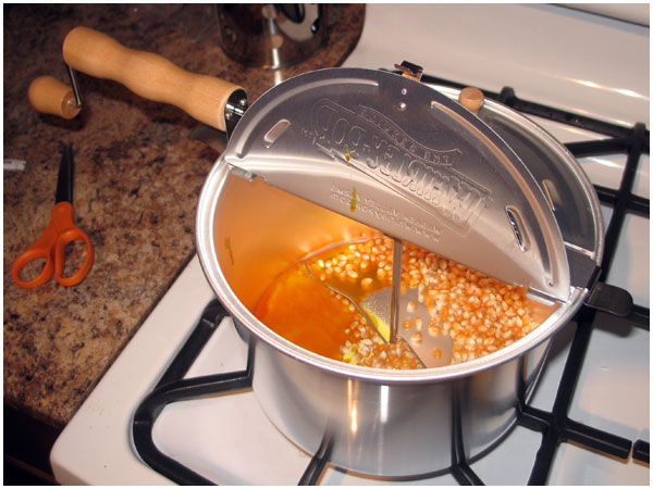 whirley pop popcorn maker instructions