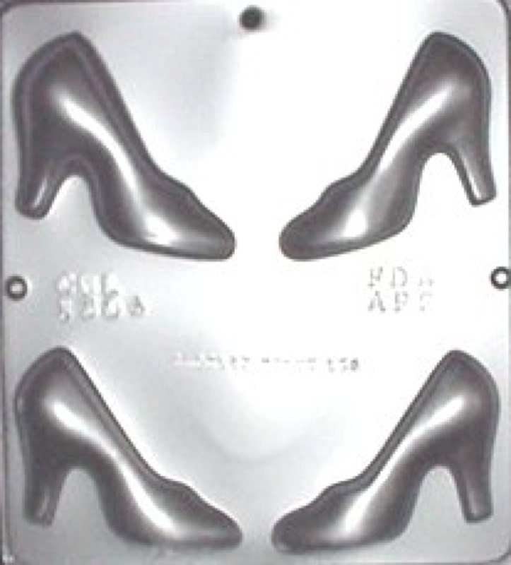 chocolate shoe mold instructions