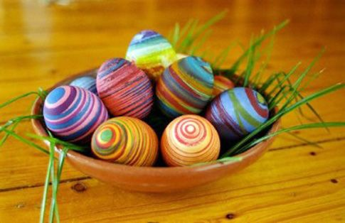 easter egg dye instructions