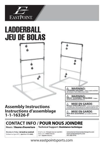 eastpoint ladder ball instructions