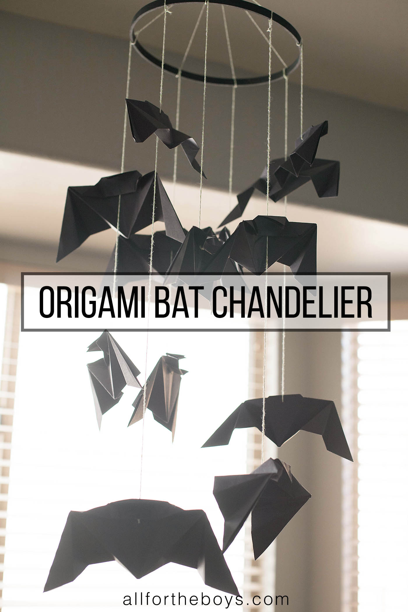 easy origami bat instructions