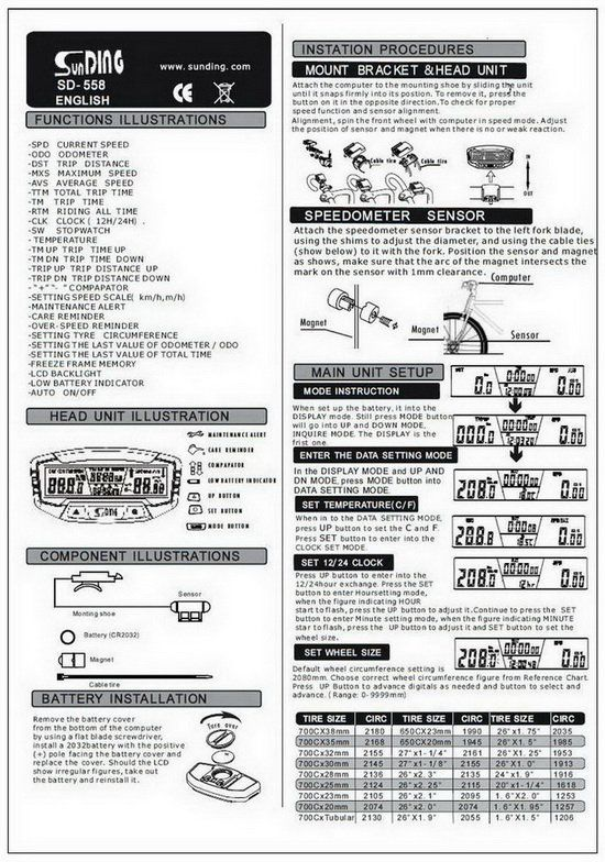 echo f7 cycle computer instructions