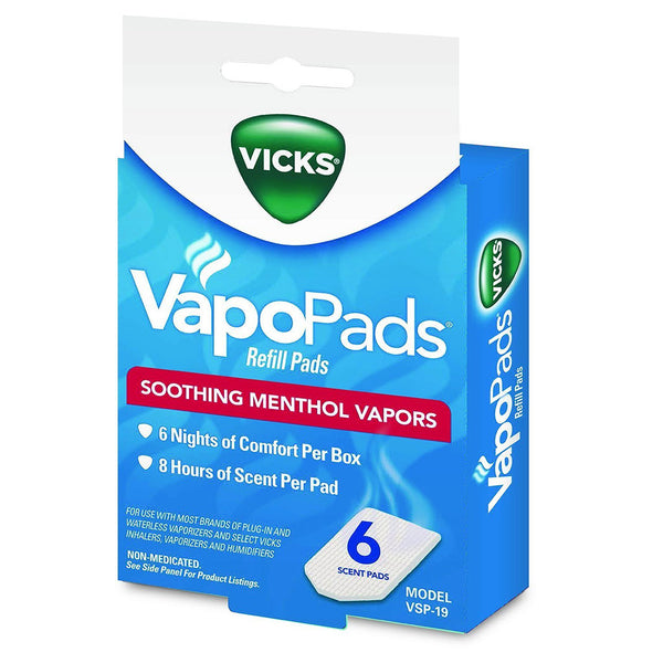 vicks vapor pad instructions