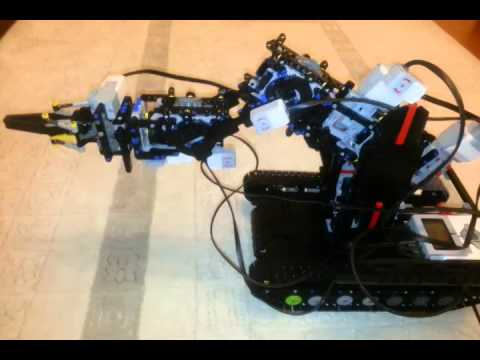 ev3 robot arm instructions