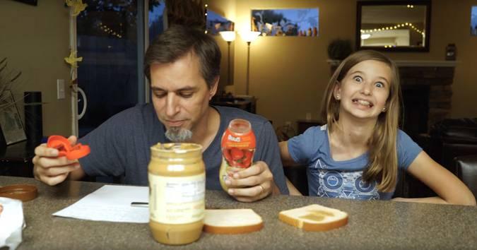 exact instructions challenge peanut butter