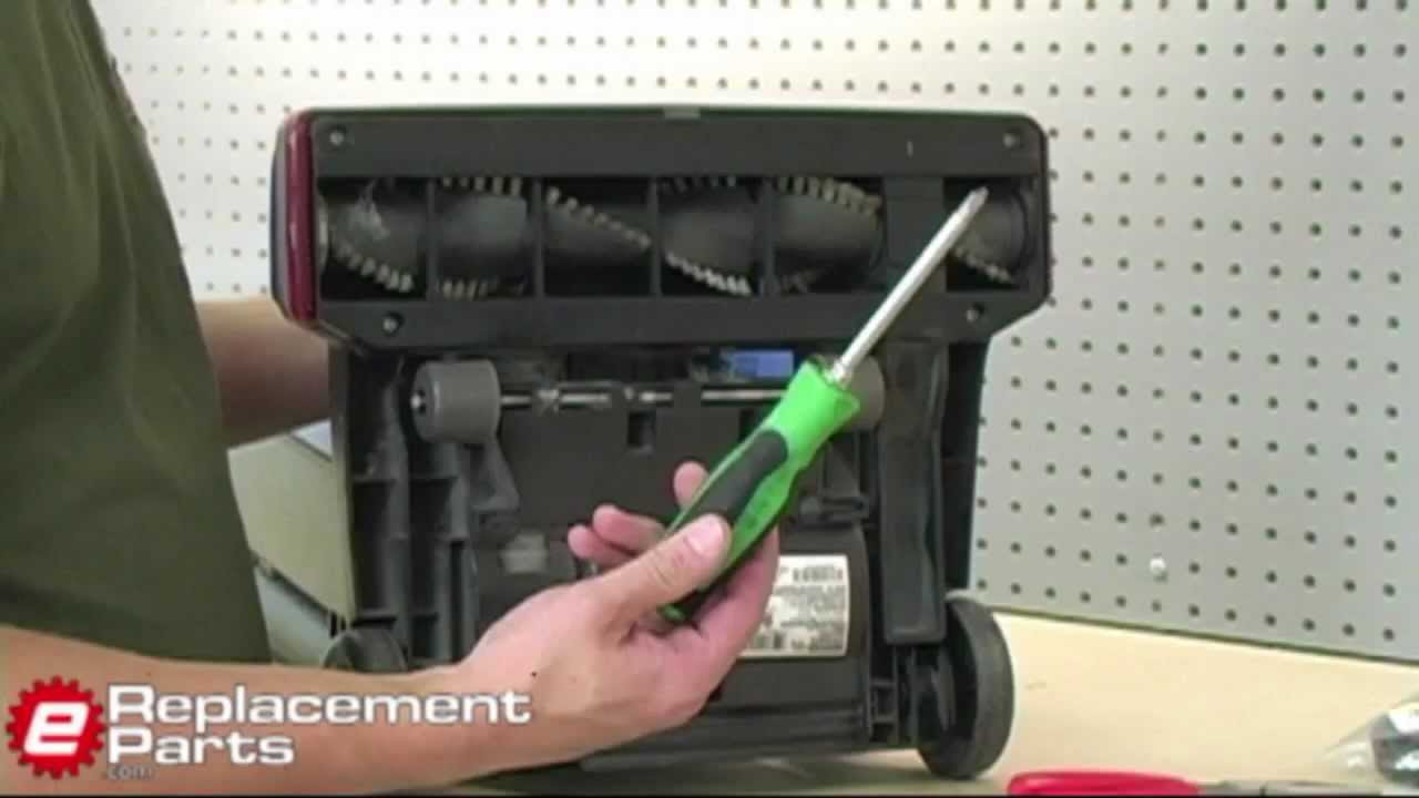 eureka vacuum belt replacement instructions