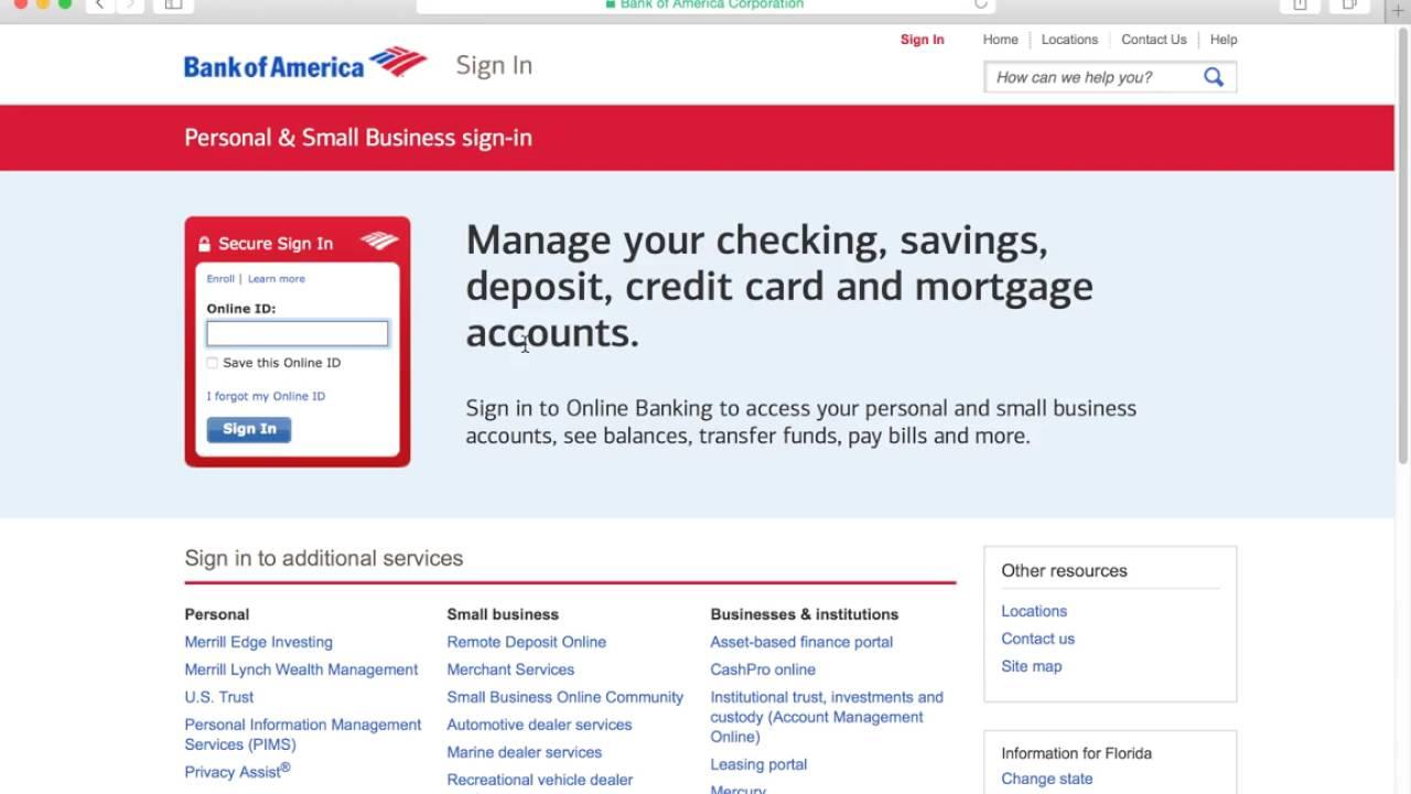 w 8ben instructions bank of america