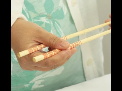 instructions on how to use chopsticks