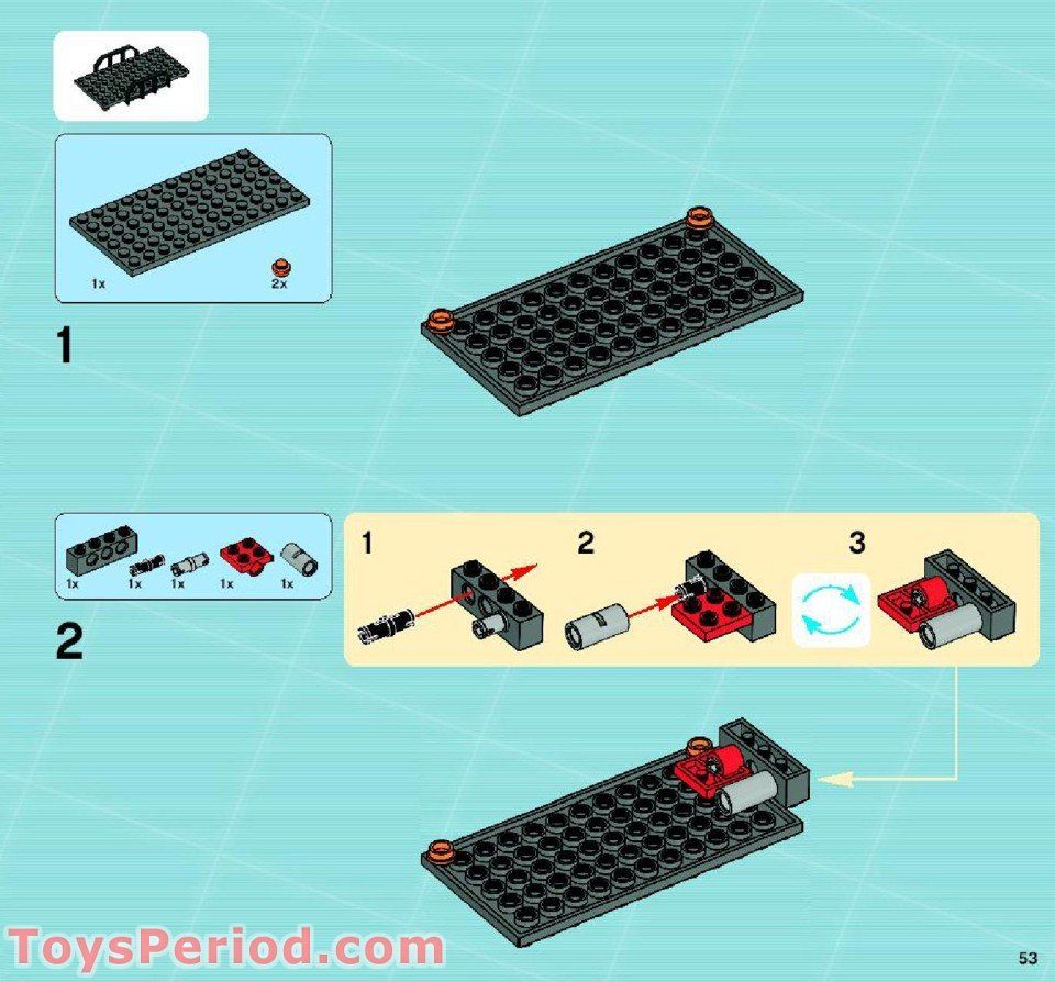 lego agents swamp raid instructions