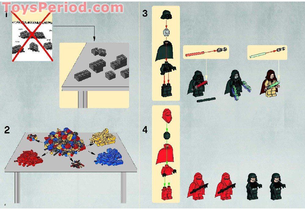 lego death star instructions