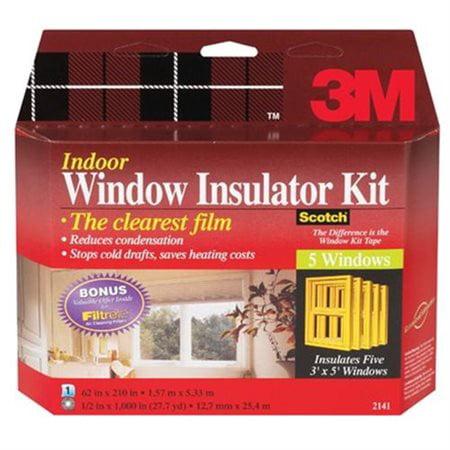 3m window insulator kit instructions