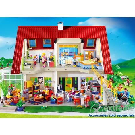 playmobil suburban house instructions