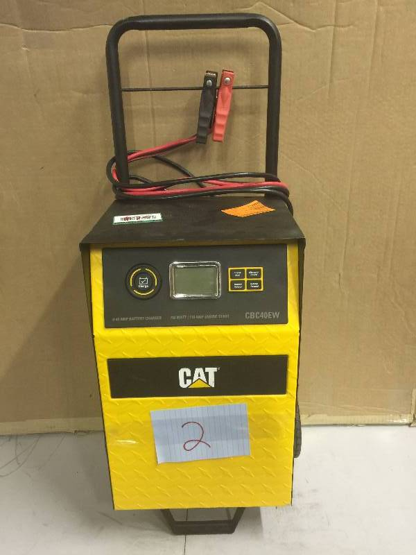 cat battery charger instructions